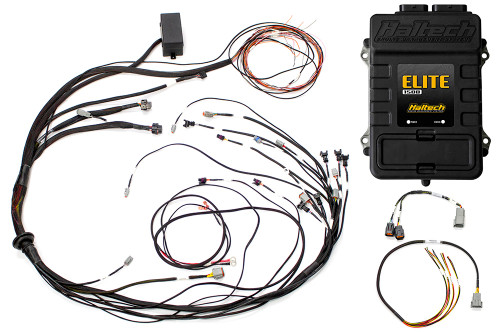 Haltech Elite 1500 + Mazda 13B S6-8 CAS with Flying Lead Ignition Terminated Harness Kit