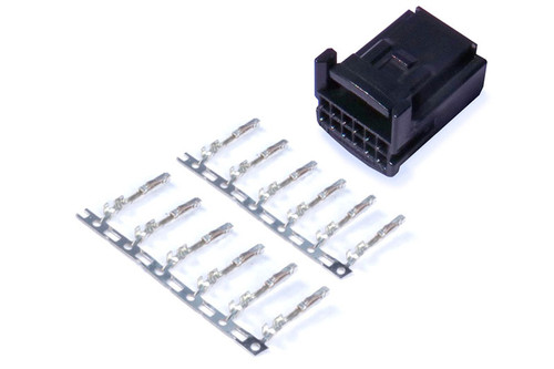 Haltech Plug and Pins Only - 12 Pin Tyco