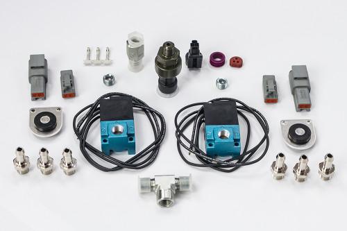 Haltech CO2 Boost Control Dual Solenoid & Pressure Sensor Kit