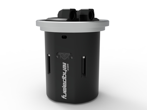 Fueled By AI FS1000 Fuel Pump Hanger + Surge Tank (Tall 172mm)