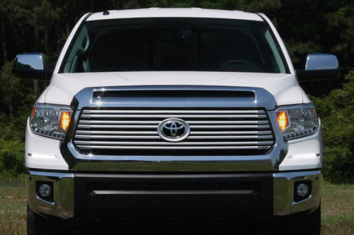 Auer Automotive LED DRL Retrofit Kit: Toyota Tundra (18-20) (Super White) (OE LED Heads)
