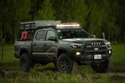 """30"""" OnX6 LED Light Bar: (White / Wide+Driving Combo Beam / Arc Series - Racer Edition)"""