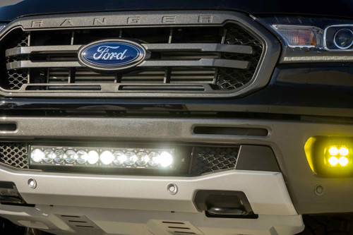 """60"""" OnX6 LED Light Bar: (White / Wide+Driving Combo Beam / Arc Series - Racer Edition)"""