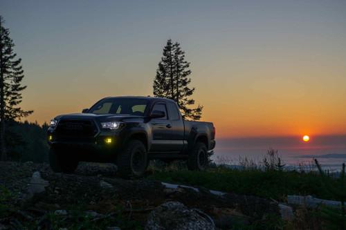 Baja Designs LED Fog Light System: Tacoma/Tundra/4Runner (Amber / Squadron Sport WC)