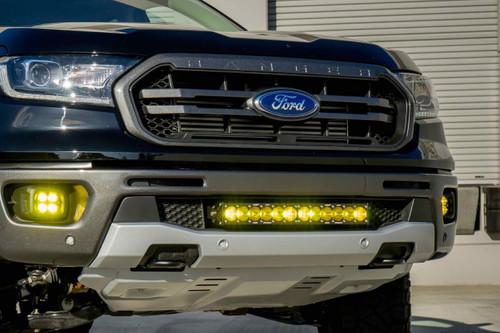 Baja Designs LED Fog Light System: Ford Ranger (19+) (Amber / SAE / Squadron)