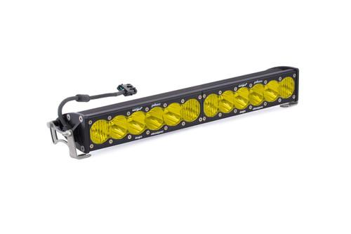 "20"" OnX6 LED Light Bar: (Amber / Wide+Driving Combo Beam)"