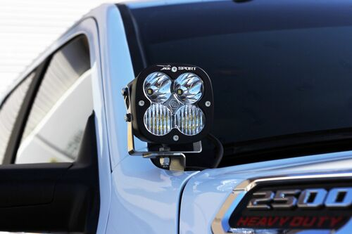 XL R Sport LED Light Pods: (Each / Amber / Wide Cornering Beam)