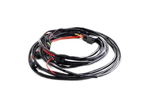 Wire Harness: Baja Designs Squadron/S2 Series (2 Lights Max 150 Watts)