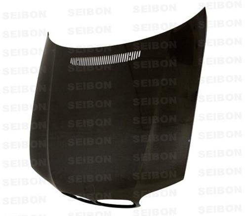 Seibon OEM Style CARBON FIBER HOOD CARBON FIBER HOOD BMW 3 SERIES 2DR (E46) Manuf. Date 7/02 to 7/06 models only* 2002-2005