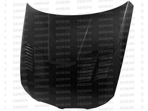 Seibon GTR Style CARBON FIBER HOOD CARBON FIBER HOOD BMW 3 SERIES 4DR Excl. M3 2009-2011