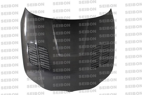 Seibon GTR Style CARBON FIBER HOOD BMW 5 SERIES 4DR (E60) Incl. M5 2004-2010