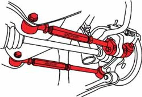 SPC Subaru WRX Adjustable Rear Camber Arms