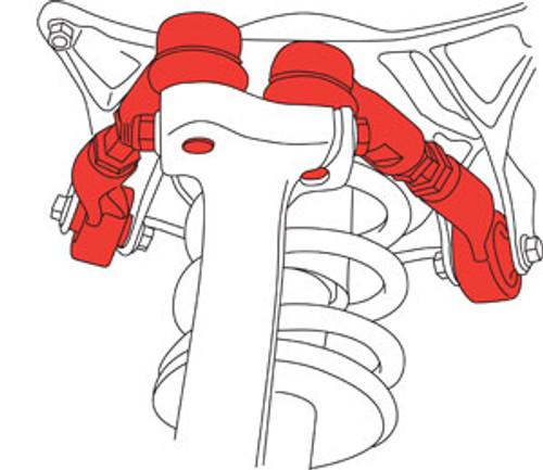 SPC Audi & VW Adjustable Racing Control Arms - Kit