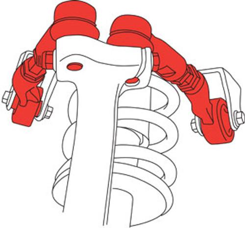 SPC Audi A4 Control Adjustable Racing Control Arms - Kit