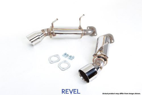Revel Medallion Touring S Exhaust Axle Back for Nissan G37 Coupe '08-'12 Infiniti Q60 '14-'16