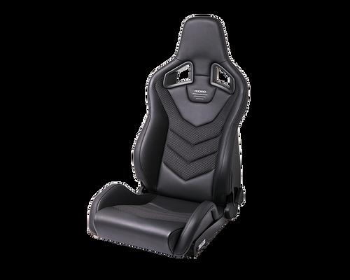 Recaro Sportster GT Driver Seat - Black Nardo/Black Nardo