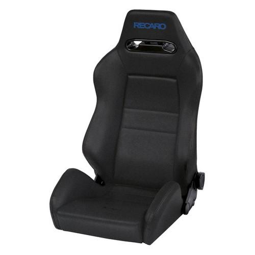 Recaro Speed Seat (3/4/5 Point) - Black Avus/Black Avus w/Blue Logo