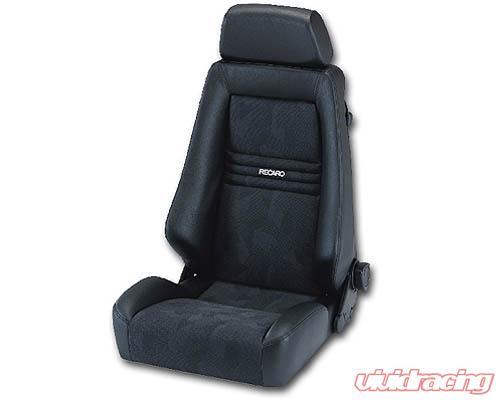 Recaro Specialist S Seat - Medium Grey Leather/Medium Grey Leather