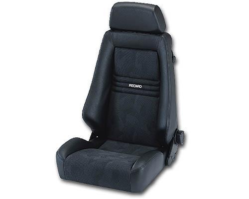 Recaro Specialist S Seat - Black AM Vinyl/Black AM Vinyl