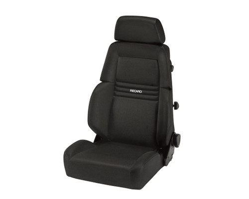 Recaro Expert S Seat - Black Avus/Black Avus
