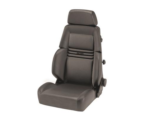 Recaro Expert S Seat - Medium Grey Leather/Medium Grey Leather