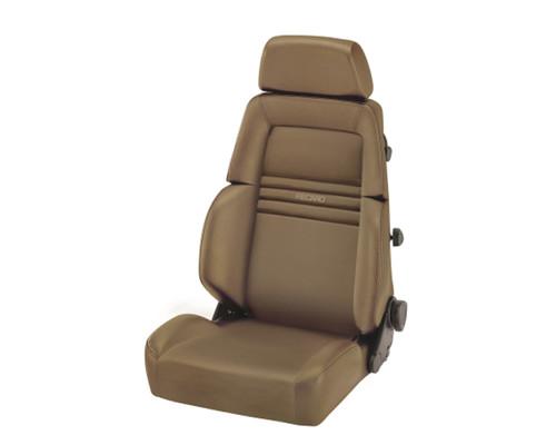 Recaro Expert S Seat - Beige Leather/Beige Leather