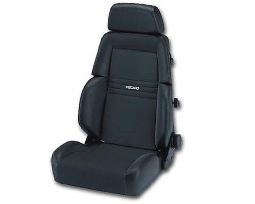 Recaro Expert M Seat - Grey Leather/Grey Artista