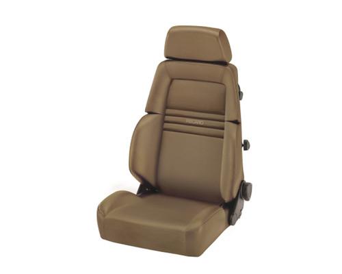 Recaro Expert M Seat - Beige Leather/Beige Leather