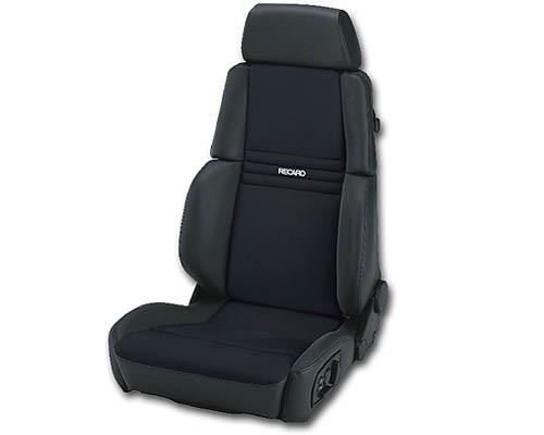 Recaro Orthoped Passenger Seat - Black Leather/Black Artista