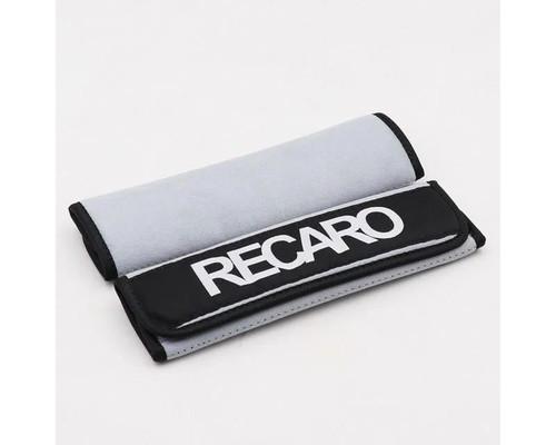 Recaro Branded Harness Pads - White