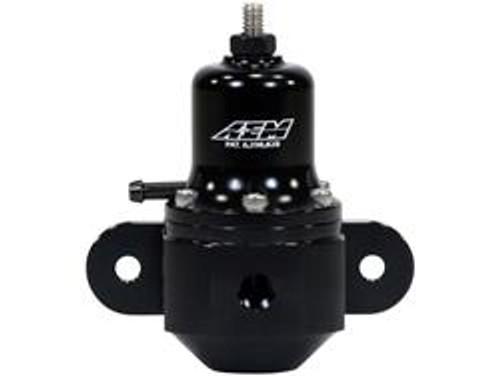AEM Fuel Pressure Regulators High Capacity Universal Black Adjustable Fuel Pressure Regulator