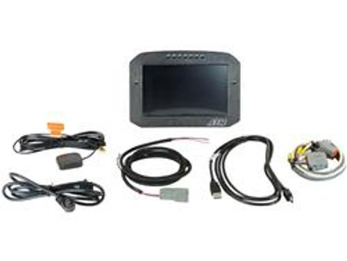 AEM Digital Gauges CD-7LG Carbon Logging Flush Digital Dash Display w/ Internal 20Hz GPS & Antenna
