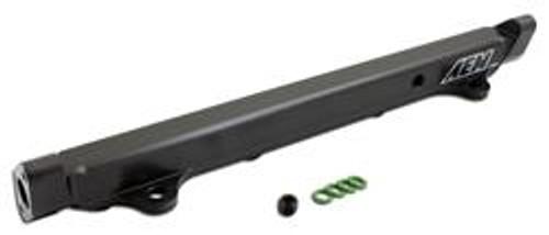 AEM Fuel Rails 03-06 Evo 8 & 9 Black Fuel Rail
