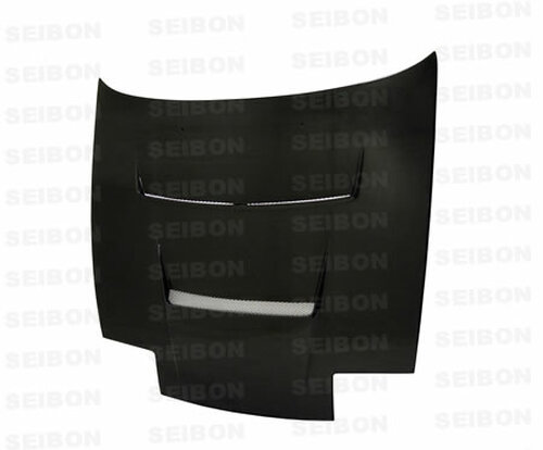 Seibon DV Style CARBON FIBER HOOD NISSAN 180SX / 240SX (S13)* 1989-1994