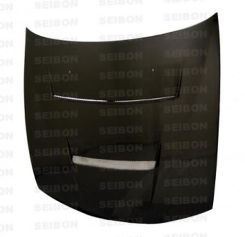 Seibon DV Style CARBON FIBER HOOD NISSAN 240SX / SILVIA (S14 KOUKI) 1997-1998