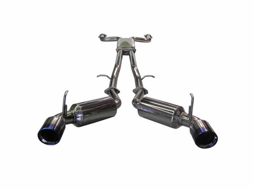 Injen 09-20 Nissan 370Z Dual 60mm SS Cat-Back Exhaust w/ Built In Resonated X-Pipe