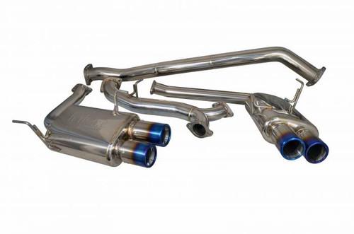 Injen 15-20 Subaru STI Cat Back Exhaust w/ Quad Titanium Tips