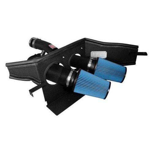 Injen 2015+ Ford F-150 V6 2.7L/3.5L EcoBoost Wrinkle Black Short Ram Intake (Includes Heat Shield)