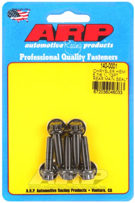 ARP Chrysler Hemi 5.7/6.1L 12pt Rear Main Seal Plate Bolt Kit