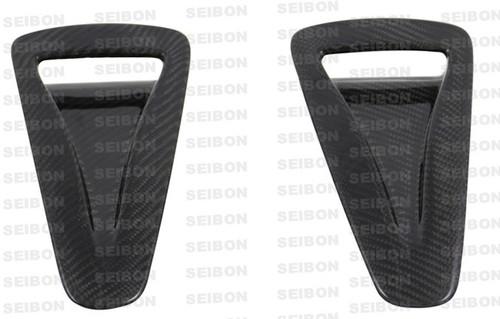 Seibon HOOD AIR DUCTS (pair) NISSAN GTR R35 2009-2012