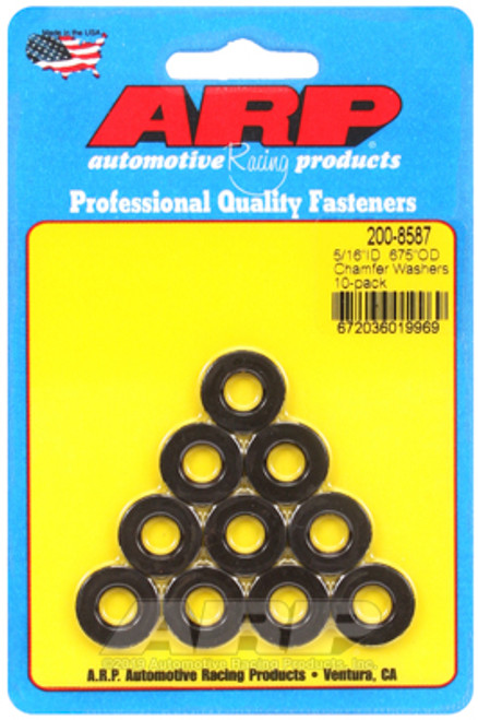 ARP 5/16 ID 0.675 OD Chamfer Washers (10 pack)