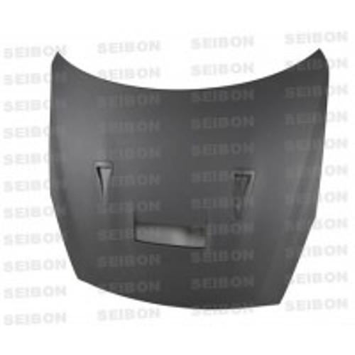 Seibon VSII Style DRY CARBON HOOD NISSAN GTR R35 2009-2012