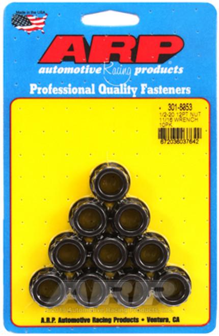 ARP 1/2-20 11/16 Socket 12pt Nut Kit (Set of 10)