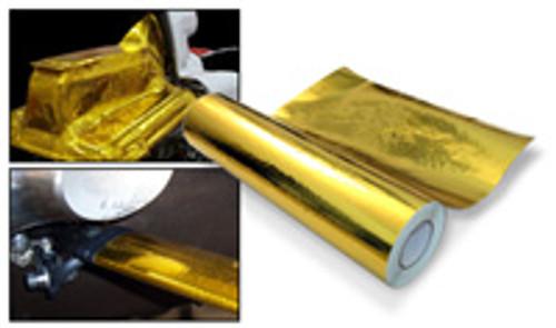 Aerospace Grade Heat Reflective Gold Film
