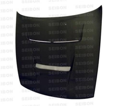 Seibon DV Style CARBON FIBER HOOD NISSAN S13 / SILVIA (S13)* 1989-1994