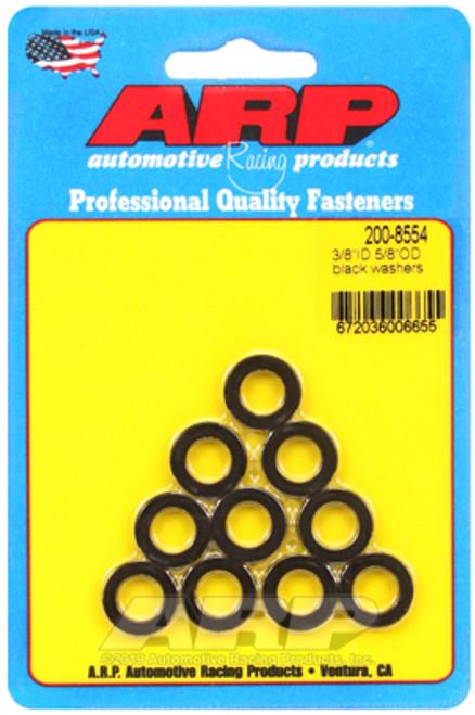 ARP 3/8 Id 5/8 Od Black Washers
