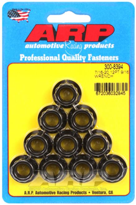 ARP 7/16inch-20 9/16inch Socket 12pt Nut Kit 10/Kits