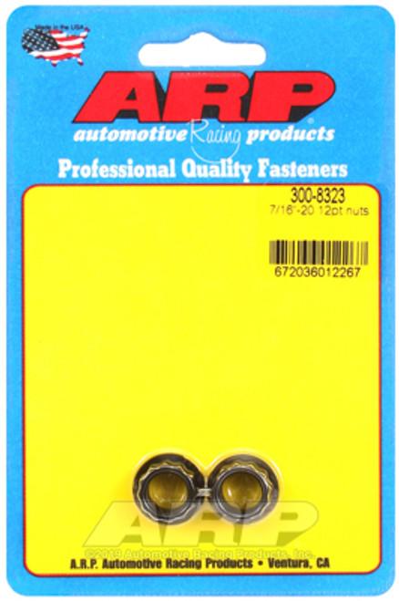 ARP 7/16in -20 12pt Nut Kit (Pack of 2)