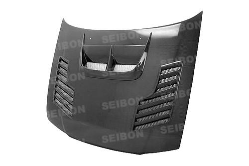 Seibon CW Style CARBON FIBER HOOD SUBARU IMPREZA / WRX / STI (GC6/8)* 1998-2001