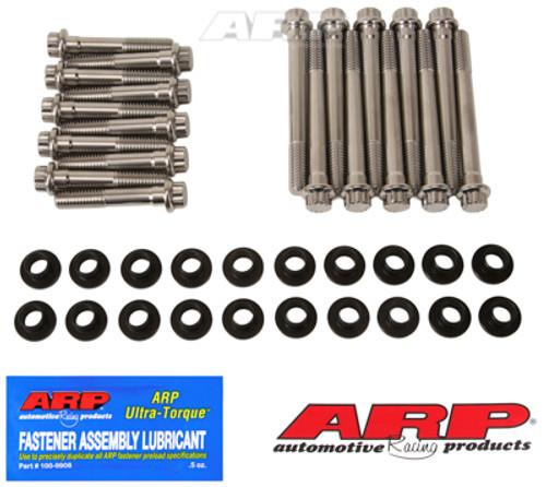 ARP SB Ford w/ W Heads SS 12pt Head Bolt Kit